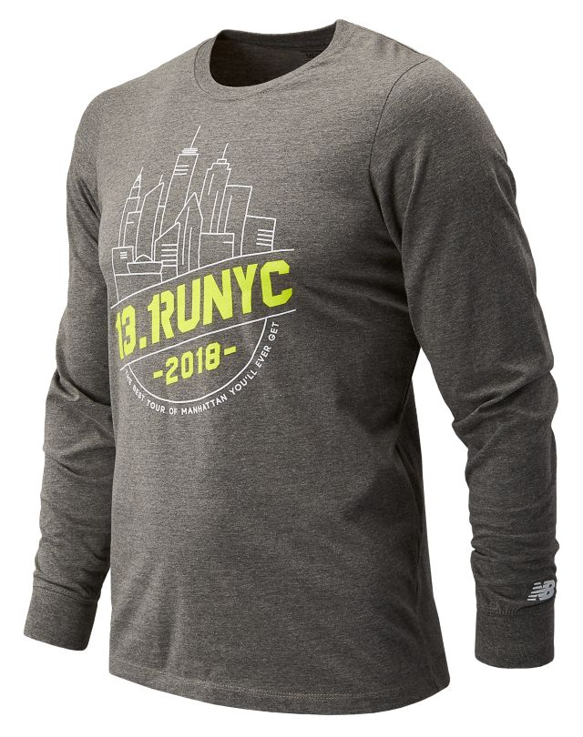 Men's United Airlines NYC Half Tour NYC Long Sleeve
