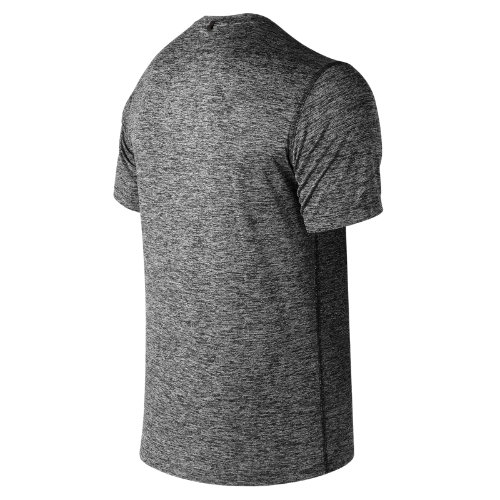 New-Balance-Core-Heathered-Tee-Men-039-s-Top-Performance thumbnail 5