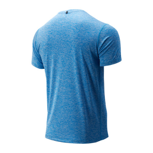 New-Balance-Core-Heathered-Tee-Men-039-s-Top-Performance thumbnail 7