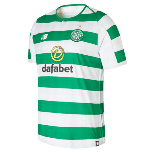New Balance Celtic FC Home Short Sleeve Jersey  - White/Celtic Green (Talla XL)