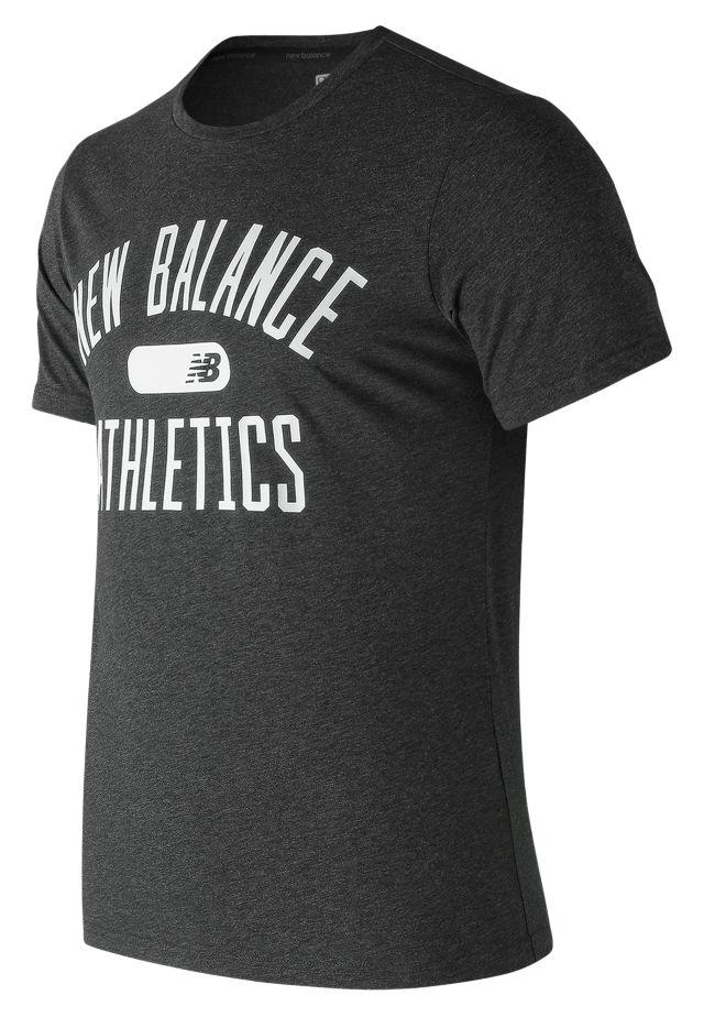 Men's NB Athletics Heather Tech Tee