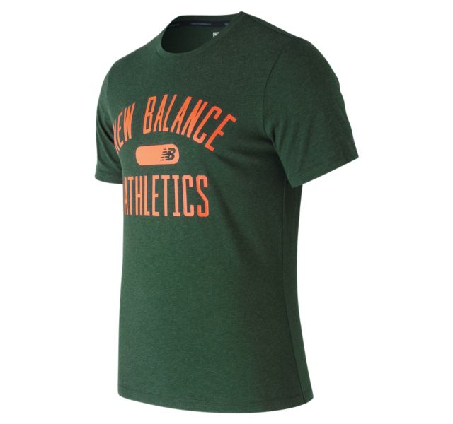 Men's NB Athletics Heather Tech Tee