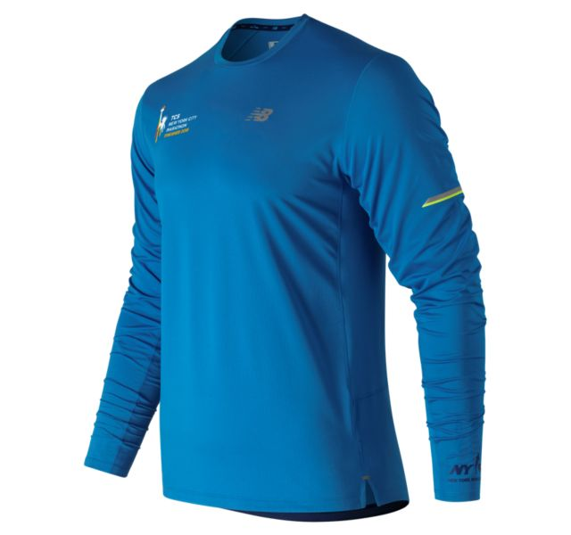 Men's 2018 NYC Marathon NB Ice 2.0 Finisher Long Sleeve
