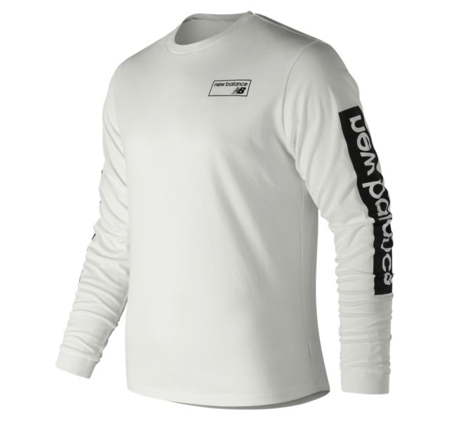 Men's NB Athletics Long Sleeve Tee