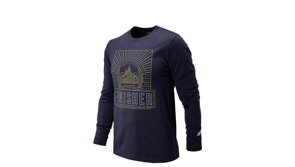 872499c4bd9ed Camiseta Manga Larga New Balance NYC Marathon Finisher Long Sleeve Hombre    Comprar en Mexico