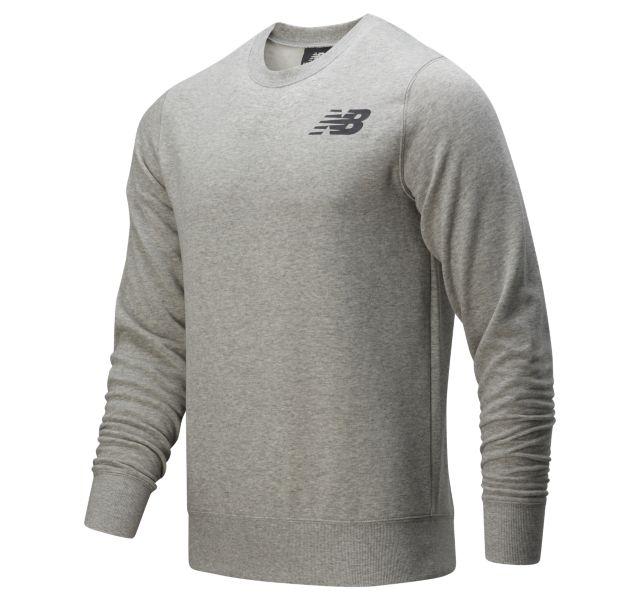 New Balance Men's Core Fleece Crew (Grey)