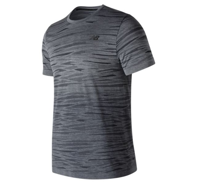 Men's Cool Current Jacquard Short Sleeve