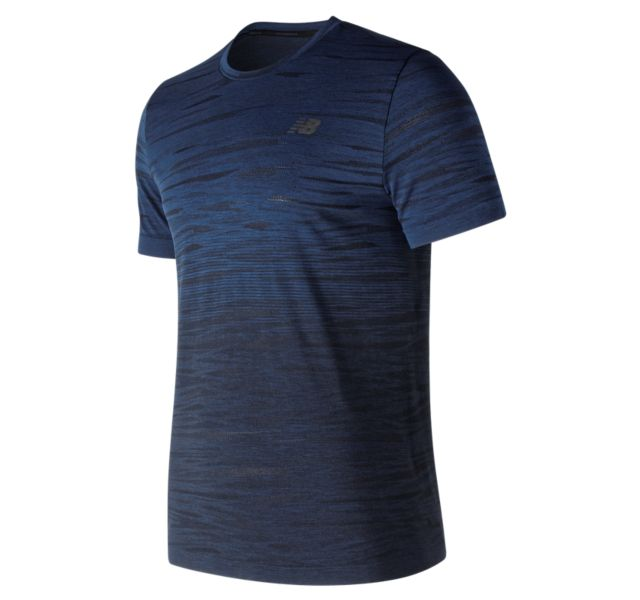 Men's Cool Current Jacquard Short Sleeve