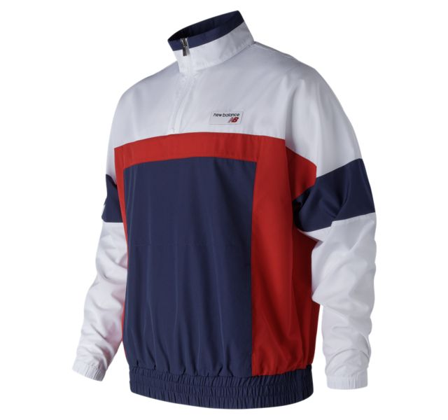 Men's NB Athletics Windbreaker Pullover