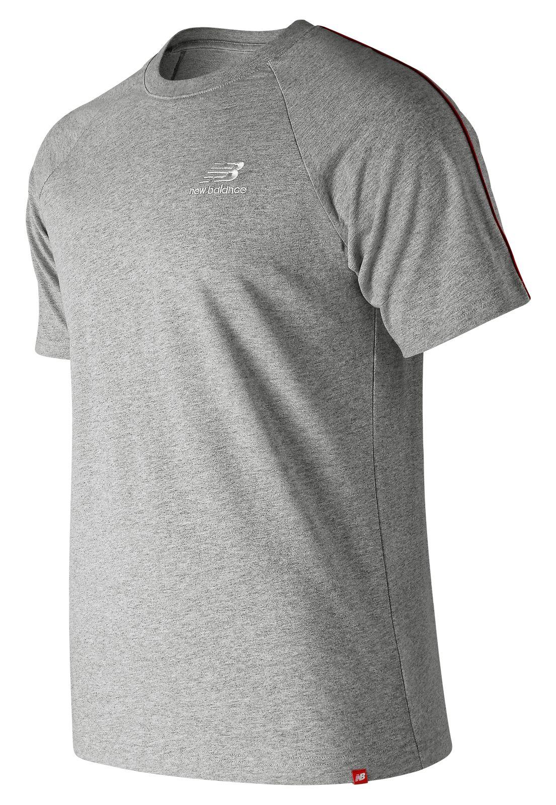 Men's Essentials Pinstripe Short Sleeve Tee