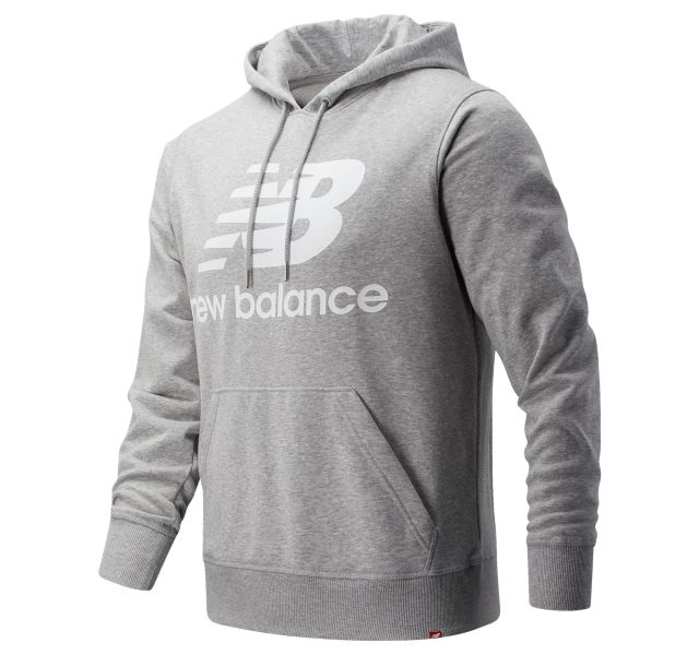 Men's Essentials Stacked Pullover Hoodie