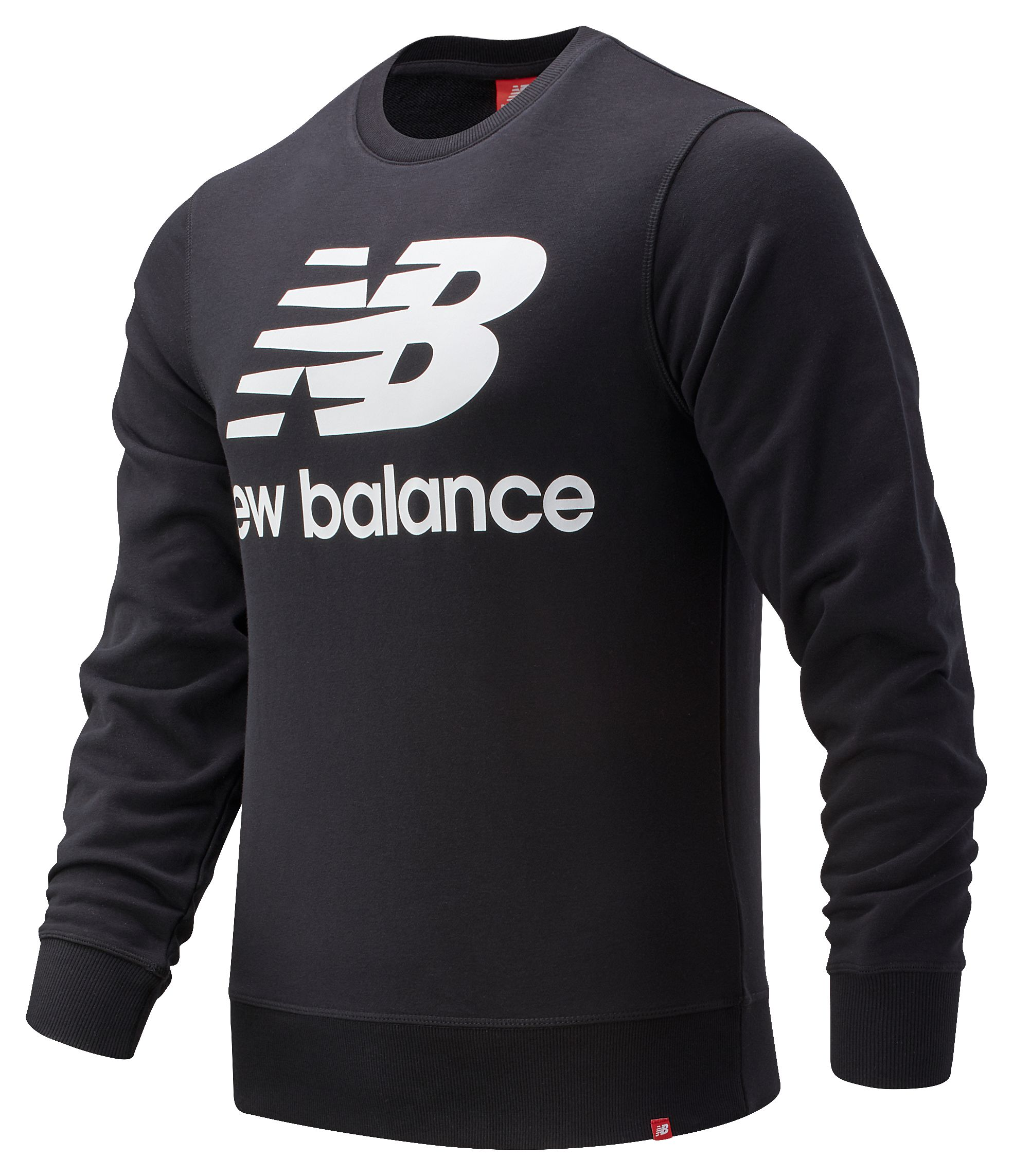 Men's Essentials Stacked Long Sleeve Crew