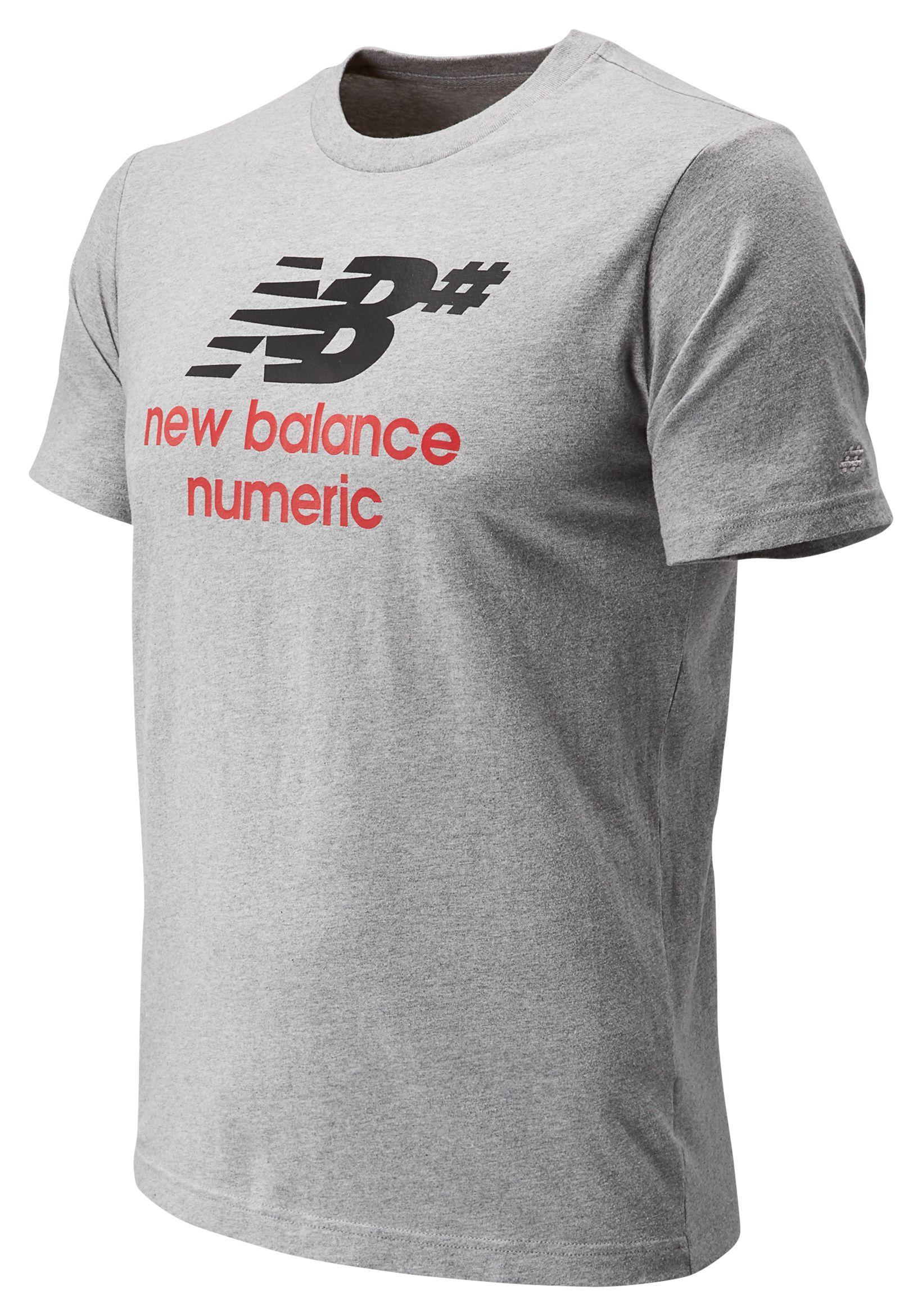 Men's Numeric Stacked Short Sleeve Tee
