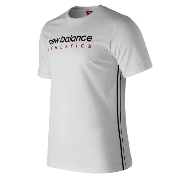 Men's NB Athletics Side Stripe Tee