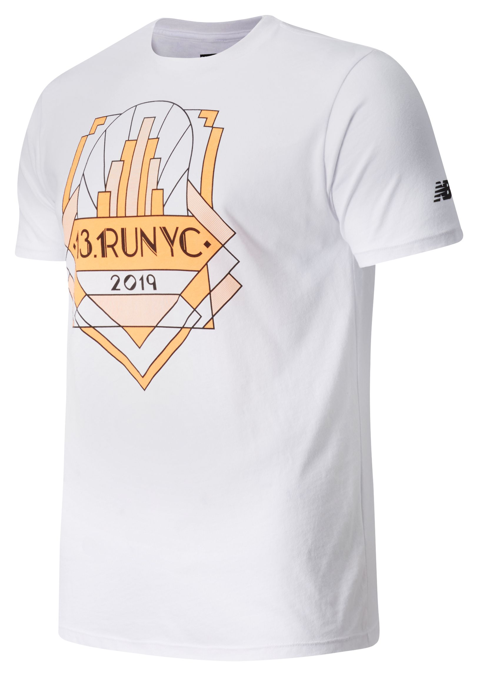 Men's United Airlines Half Run NYC Short Sleeve
