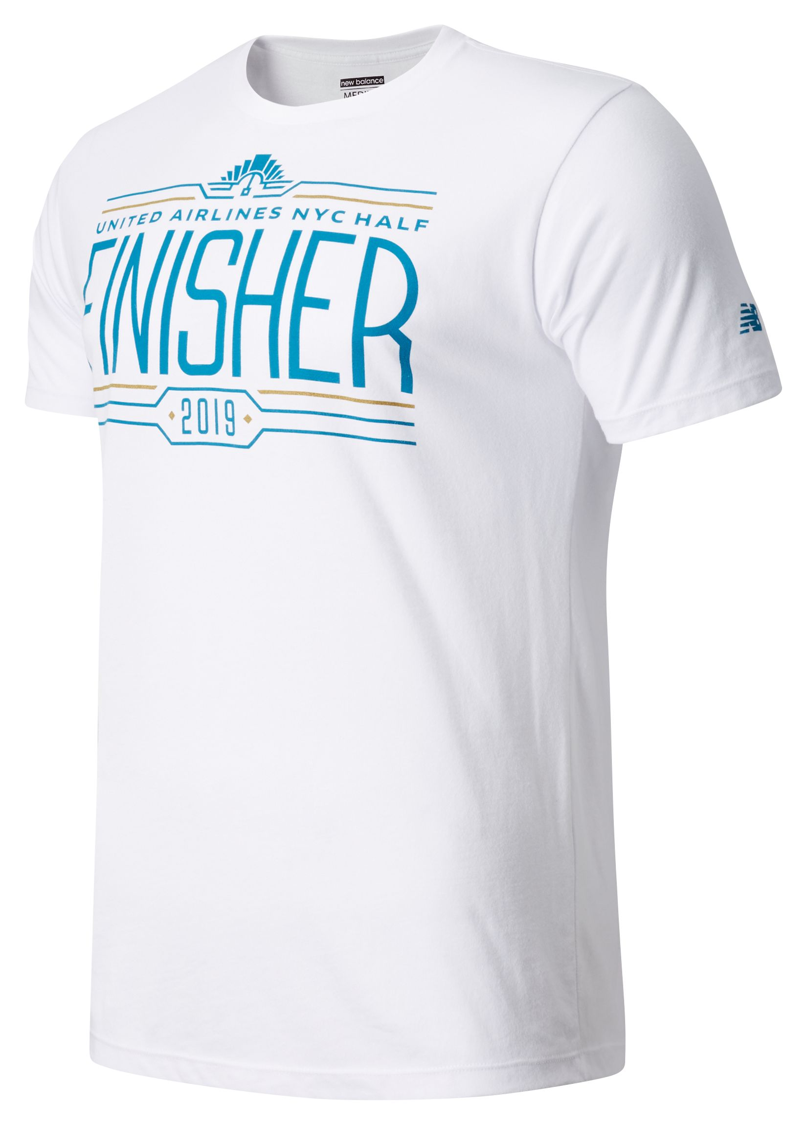 Men's United Airlines Half Finisher Short Sleeve