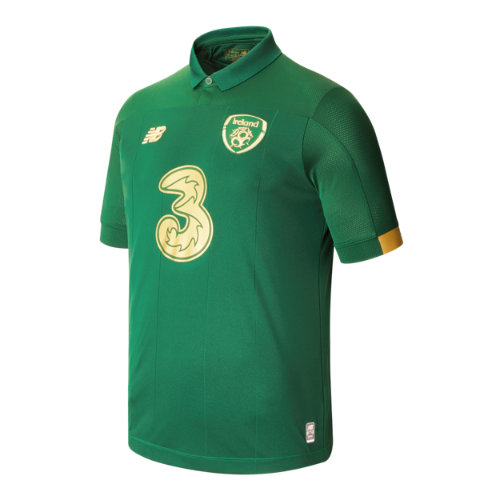 New Balance 930322 Men's FA Ireland Home SS Jersey - Green/Gold (MT930322HME)