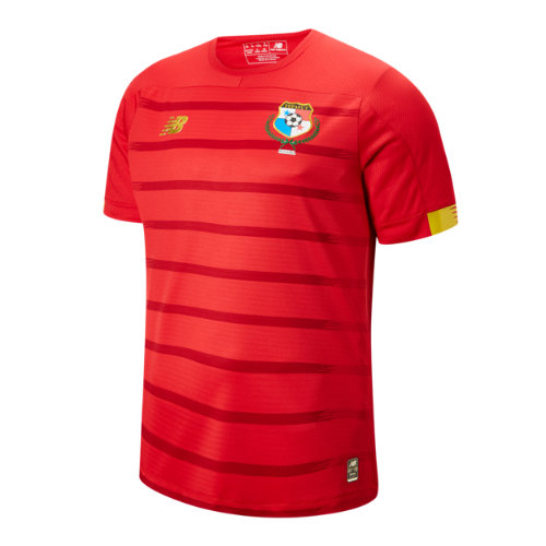 New Balance 930402 Men's Panama Home SS Jersey - Red/Yellow (MT930402HME)