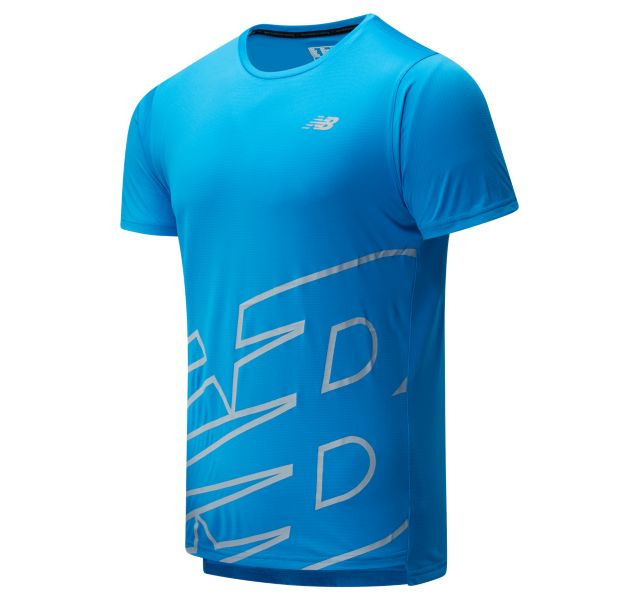 Men's Printed Accelerate Short Sleeve