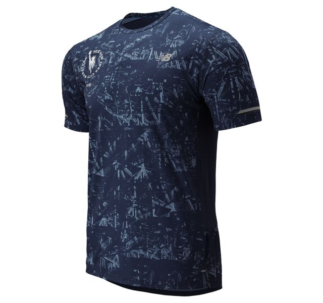 Men's 2019 NYC Marathon NB Ice 2.0 Short Sleeve