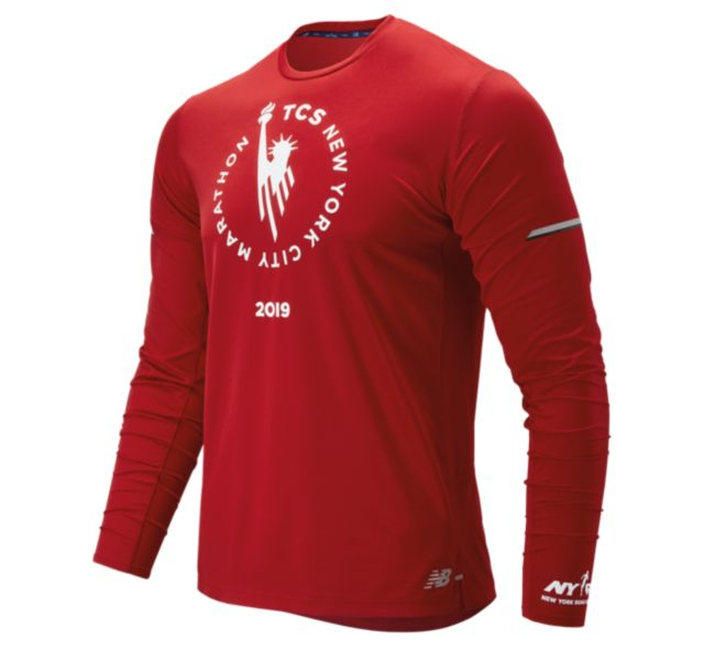 Men's 2019 NYC Marathon NB Ice 2.0 Long Sleeve
