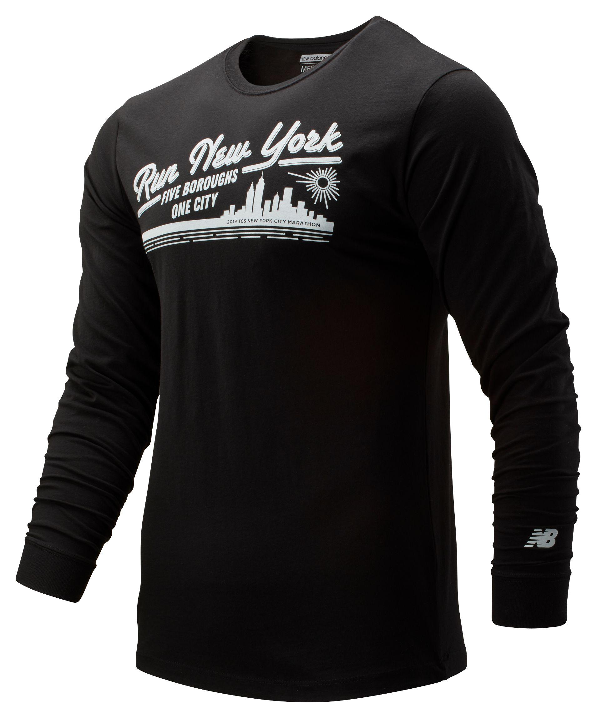 Men's 2019 NYC Marathon Vintage Long Sleeve