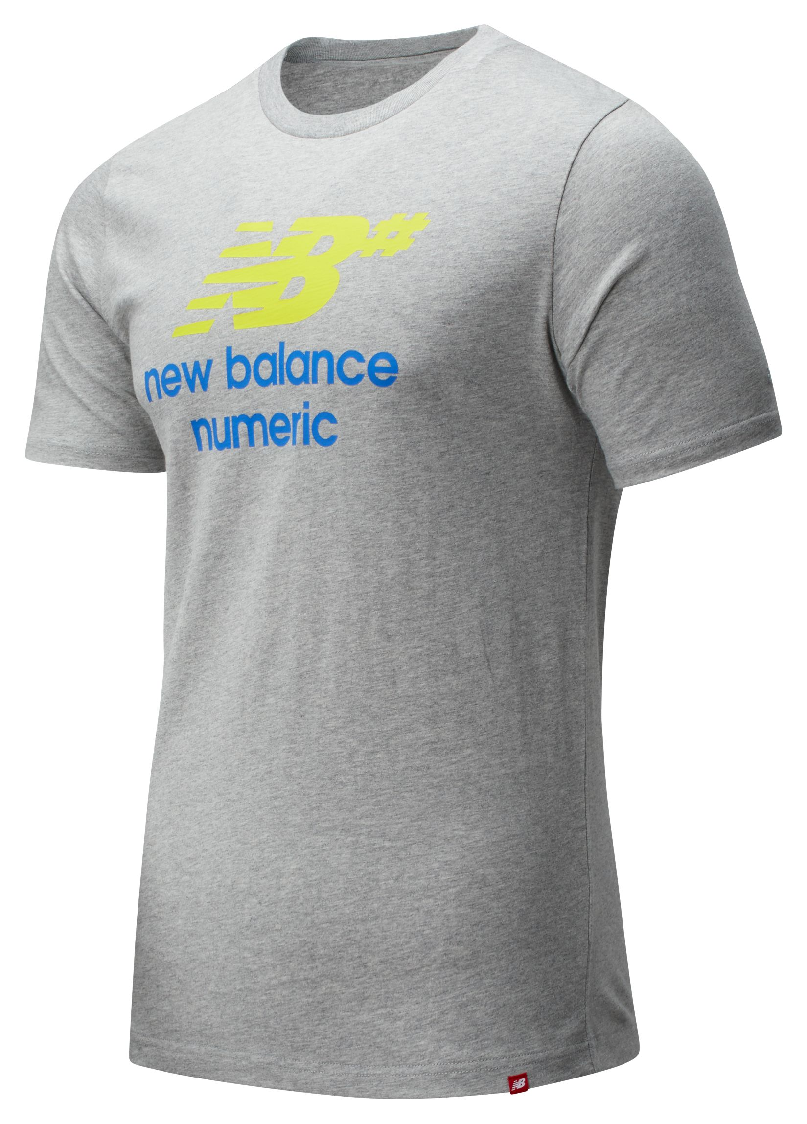 Men's NB Numeric Logo Stacked Tee