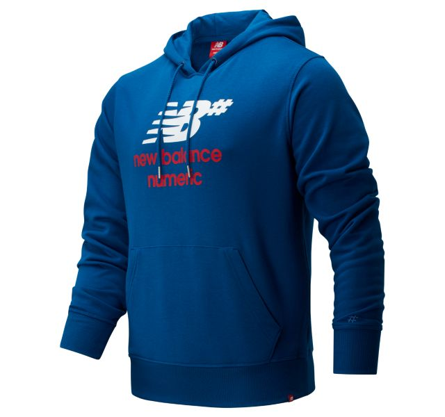 Men's NB Numeric Logo Stacked Hoodie