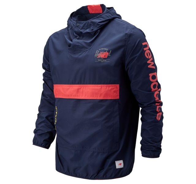 Men's Packable Anorak With Removable Hippack
