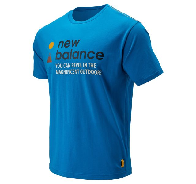 Men's NB Athletics Trail SS Tee