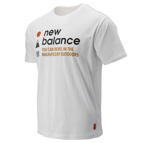 Men's NB Athletics Trail SS Tee