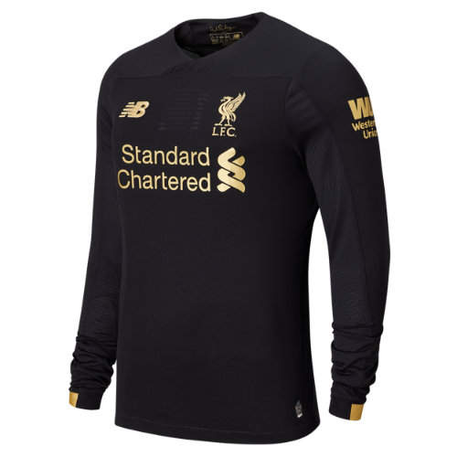 New Balance 939001 Men's Liverpool FC Home GK LS Jersey - Black/Gold (MT939001HME)