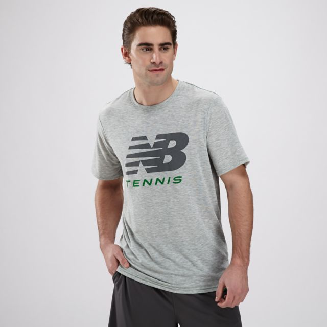 Mens Big Brand Tennis Tee