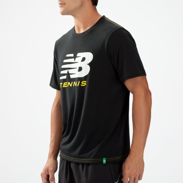 Mens Big Brand Tennis Tee