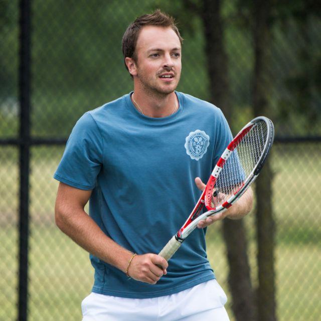 Mens Tennis Code Tech Tee