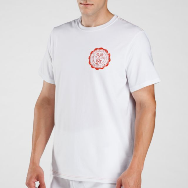 Mens Tennis Code Tech Tee