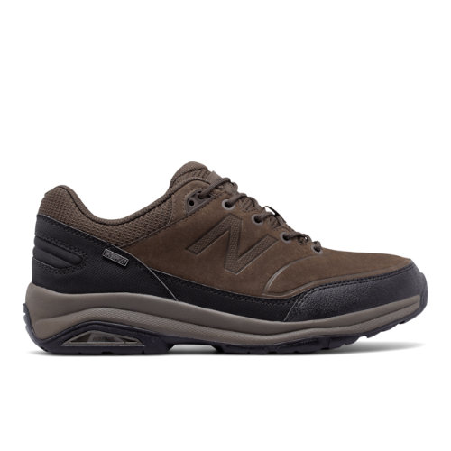 1300 Men's Trail Walking Shoes - Brown/Black (MW1300DD)