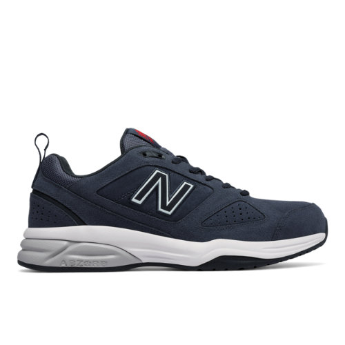 New Balance 623v3 Suede Trainer Men's Everyday Trainers Shoes - Grey (MX623CH3)