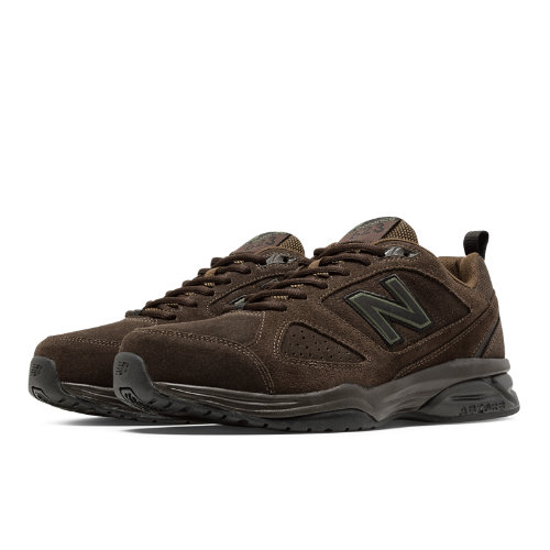 New Balance 623v3 Suede Trainer Men's Everyday Trainers Shoes - Brown (MX623OD3)