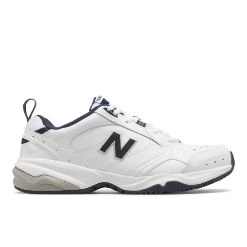 624 Men's Everyday Trainers Shoes - White/Navy (MX624WN2)