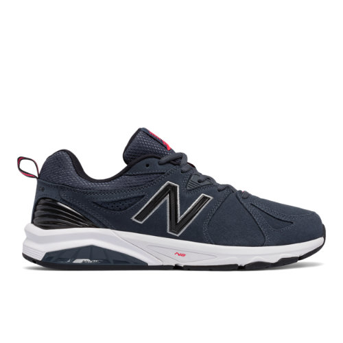 New Balance 857v2 Suede Men's Everyday Trainers Shoes - Blue (MX857CH2)
