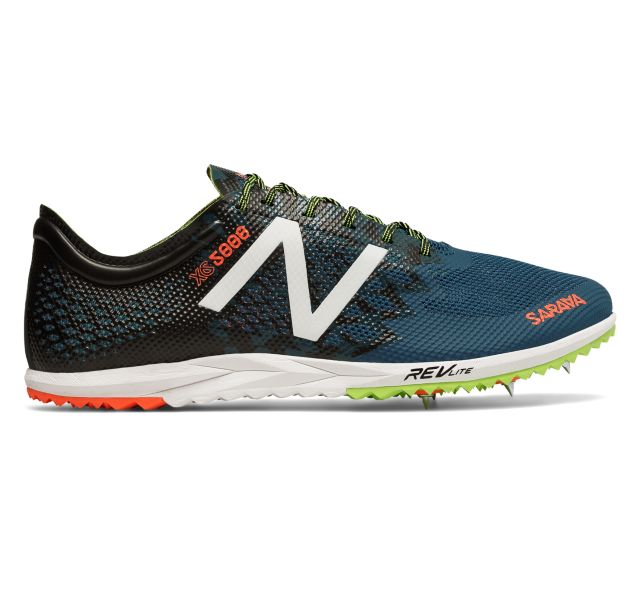 new balance men's mxc5000 cross country spikes shoe
