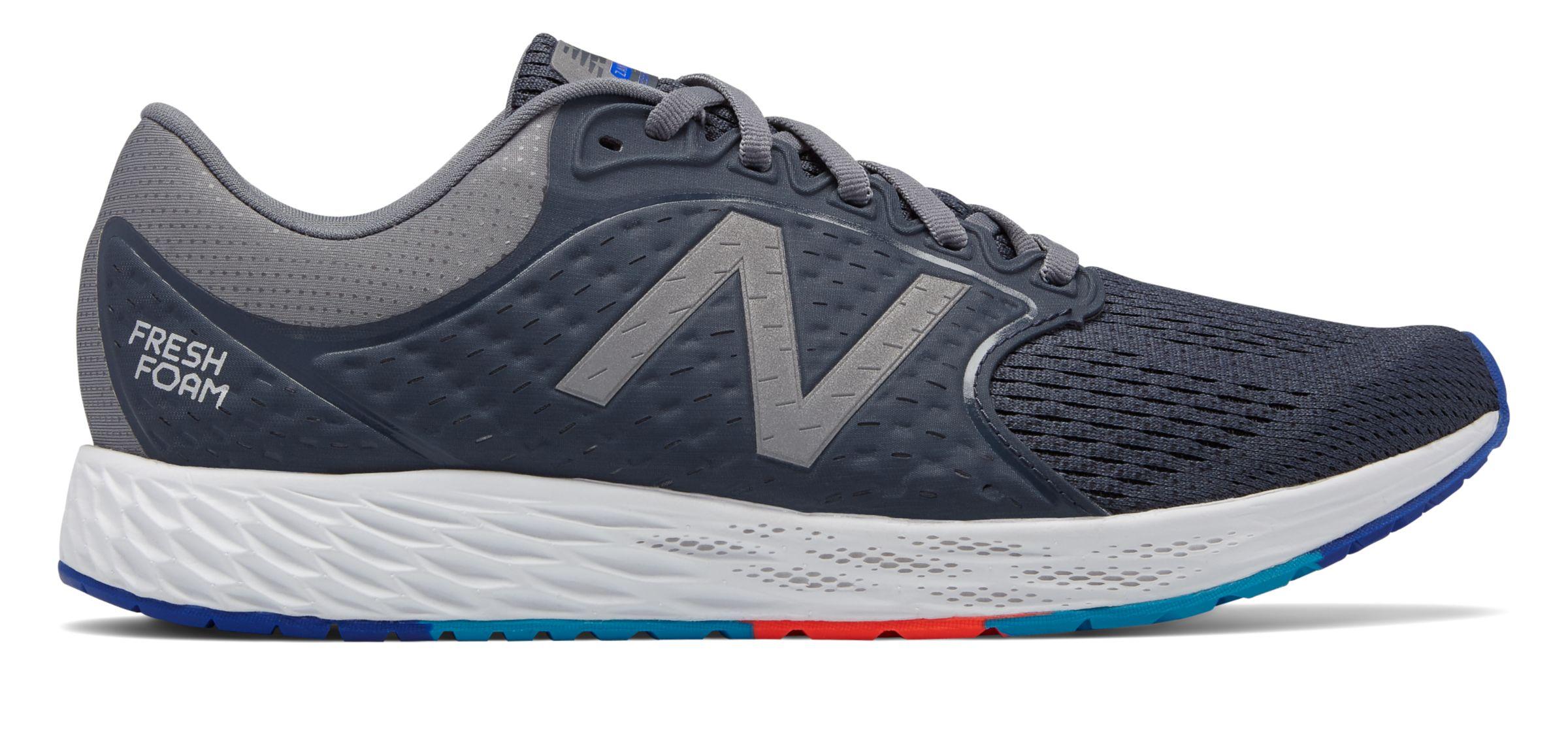 New Balance Men s Fresh Foam Zante v4 Shoes Grey with Grey  4a6899bfb7