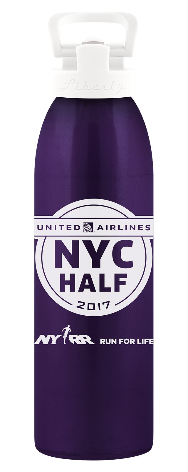 United NYC Half Waterbottle