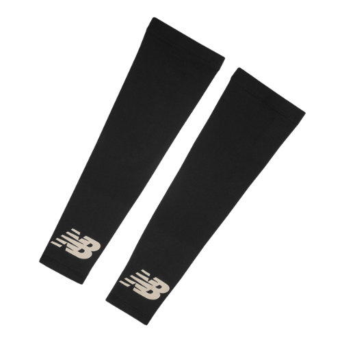 New Balance Men's & Women's Cold Weather Arm Sleeves - Black (NB2013BLK)