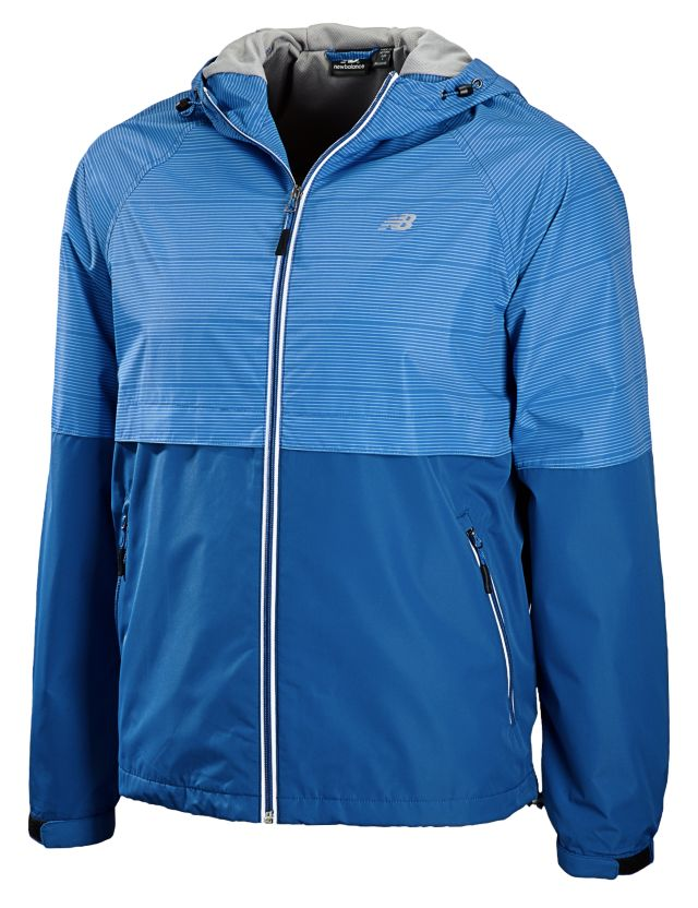 Mens Color Block Weather Resistant Jacket