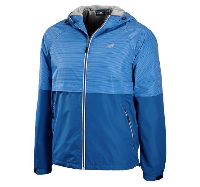 Mens Color Block Weather Resistant Jacket