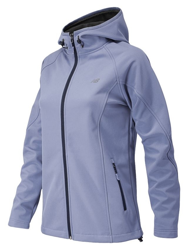 Womens Classic Hooded Softshell Jacket
