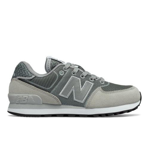 New Balance 574  - Grey/Black (Talla EU 33 / UK 1)