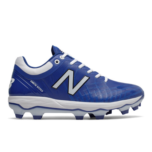 4040v5 TPU Men's Cleats and Turf Shoes - Blue/White (PL4040B5)